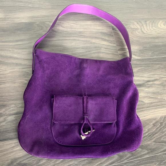 Purple Burberry Purse!
